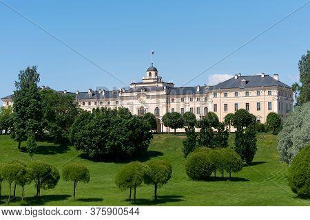 Strelna, Saint-petersburg, Russia - July 24, 2020: The State Complex