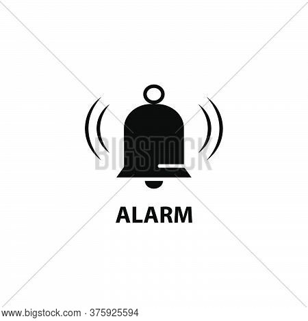Illustration Vector Graphic Of Bell Icon. Fit For Sound, Sign, Alarm, Call, Alert, Simple, Design, D