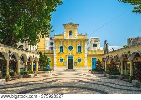 Chapel Of St. Francis Xavier At Macau, China