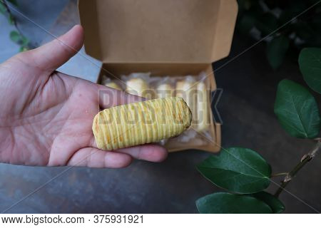 Pineapple Pastry, Pineapple Rolls Or Pineapple Tart