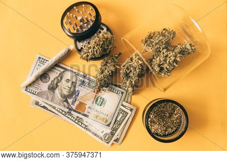 Cannabis Money Black Market. Money Weed. Cannabis In Economics. Joint Weed.