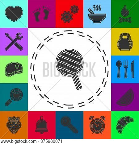 Vector Lollipop, Lollipop Vector Candy - Sweet Symbol. Flat Pictogram - Simple Icon