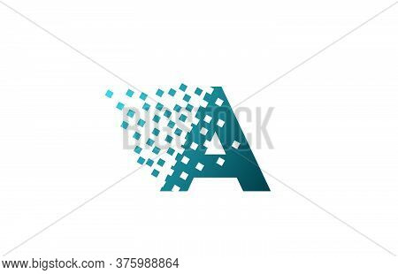 A Alphabet Letter Logo Icon For Company And Business. Creative Design For Corporate Identity