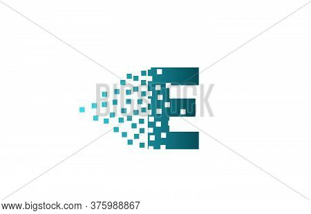 E Alphabet Letter Logo Icon For Company And Business. Creative Design For Corporate Identity