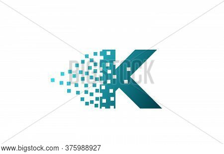 K Alphabet Letter Logo Icon For Company And Business. Creative Design For Corporate Identity