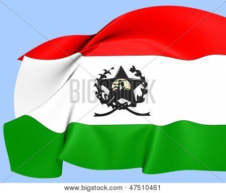 Flag Of Afonso Claudio, Brazil.