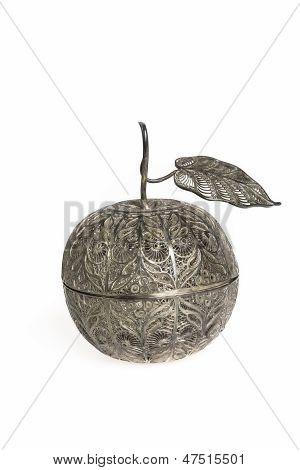 Filigree Silver Apple