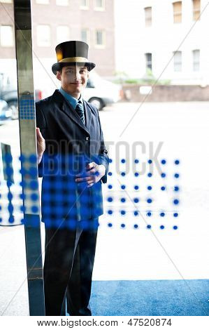 Hotel Doorman At Your Service