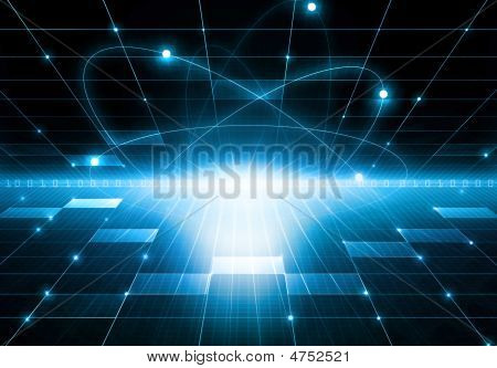 Abstract Futuristic Modern Background