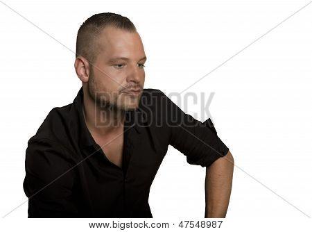 Man Studio Portrait