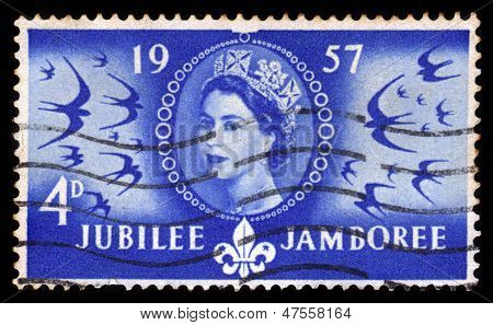 Queen Elizabeth And World Scout Jamboree