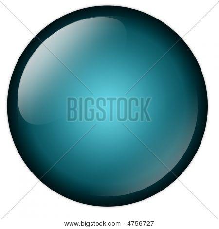 Blue Orb Button