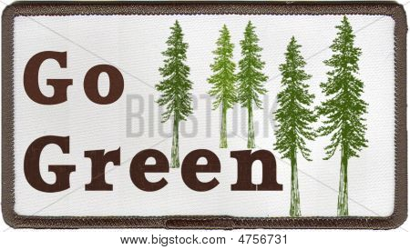 Go Green Patch