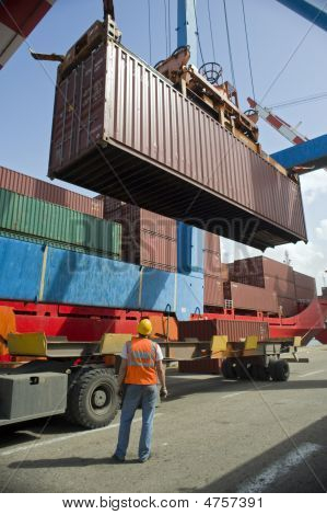 Container Uploading