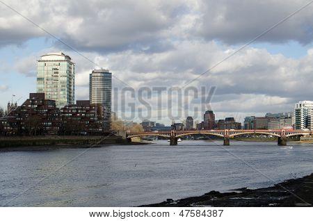 River Thames, Central London