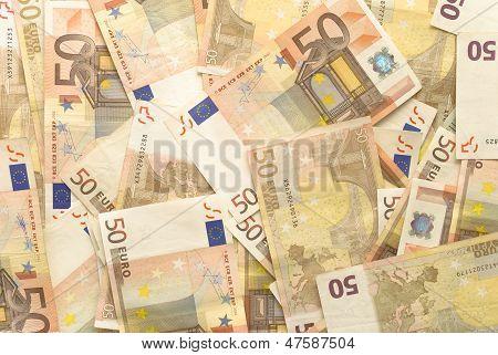 Euro Bills - 50
