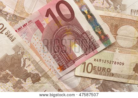 Euro Bills - 10