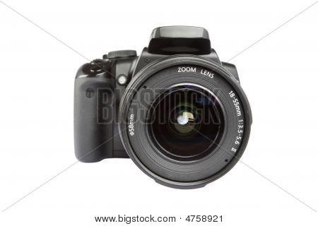 digitale slr-Kamera auf weiß