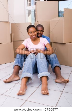 african american couple moving in together