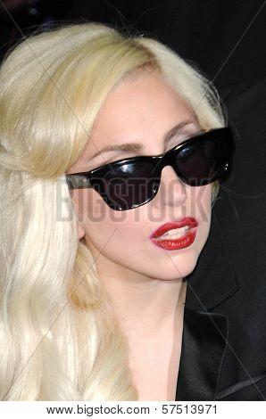 Lady Gaga at a signing for the CD