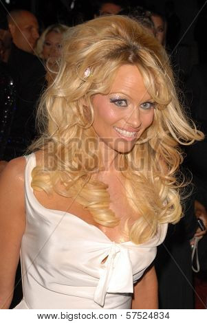 Pam Anderson  at the Gridlock New Years Eve 2010 Party, Paramount Studios, Hollywood, CA. 12-31-09