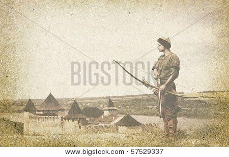 Medieval guard