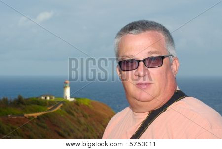 A Man And A Lighthouse
