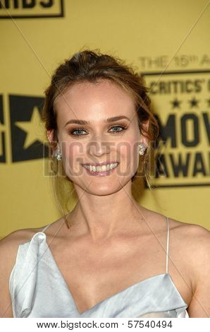Diane Kruger  at the 15th Annual Critic's Choice Awards, Hollywood Palladium, Hollywood, CA. 01-15-10