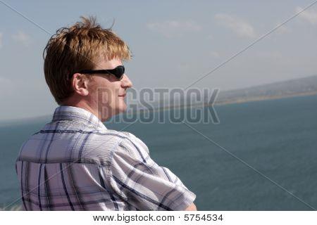 Man Looks At Sevan