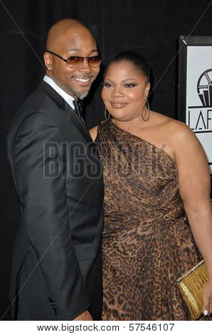 Sidney Hicks and Mo'Nique at the 35th Annual Los Angeles Film Critics Association Awards, InterContinental Los Angeles, Century City, CA. 01-16-10