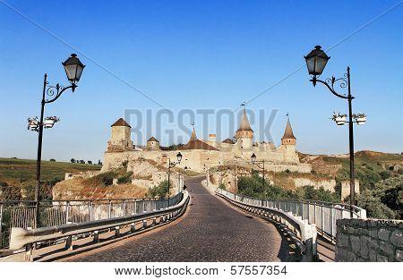 Fortress In Kamyanets Podilskiy Ukraine