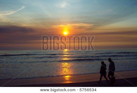 Sunset AT Torrey Pines, San Diego