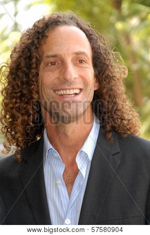 Kenny G at the ceremony honoring Dave Koz with a star on the Hollywood Walk of Fame. Vine Street, Hollywood, CA. 09-22-09