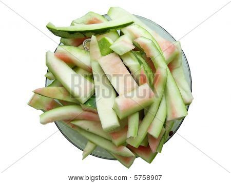 Watermelon rinds