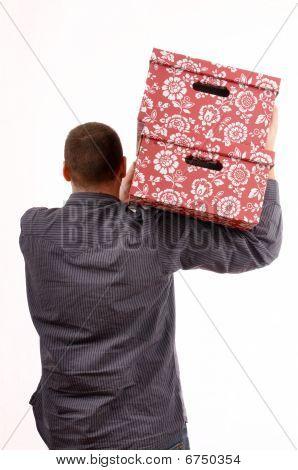 Boxes On Shoulder