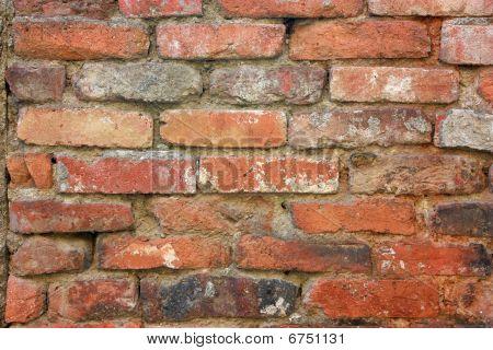 Old Brick Wall Background Horizontal