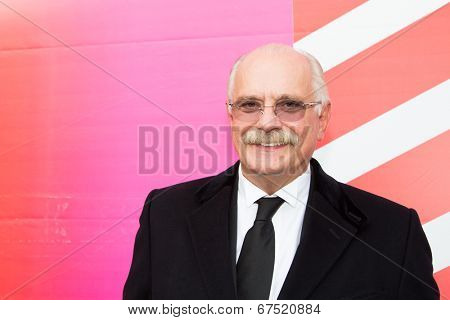 MOSCOW - JUNE, 28: President of the festival Nikita Mikhalkov. 36st Moscow International Film Festival. Closing Ceremony at Rossiya Cinema . June 28, 2014 in Moscow, Russia