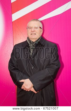 MOSCOW - JUNE, 28:Vladimir Zhirinovsky. 36st Moscow International Film Festival. Closing Ceremony at Rossiya Cinema . June 28, 2014 in Moscow, Russia
