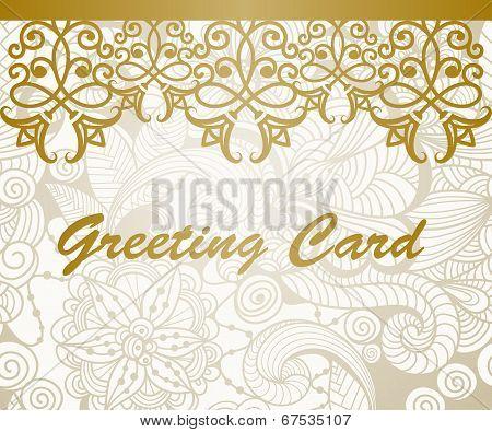 Vector Greeting Card