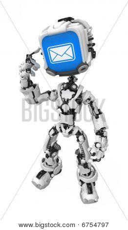 Blue Screen Robot, Got Mail