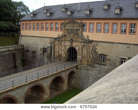 Citadelle Petersberg in Erfurt, Germany (Petersberg Citadel)