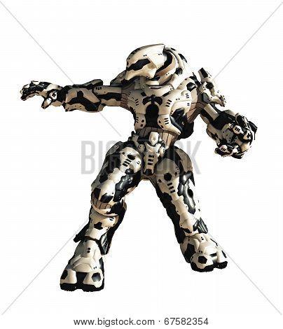Science Fiction Battle Robot