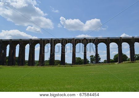 Ouse valley railway viaduct.