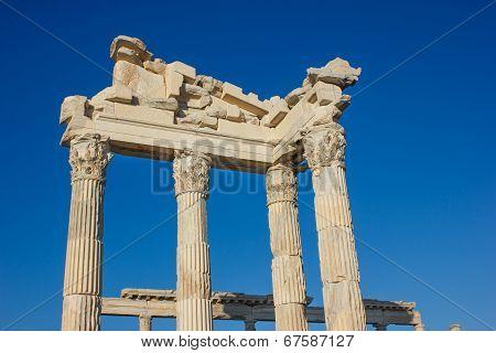 Ancient Temple Of Trajan 1