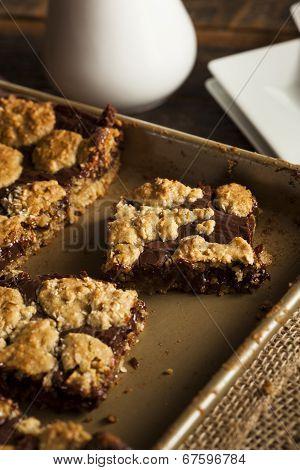 Homemade Chocolate Revel Brownie Bars