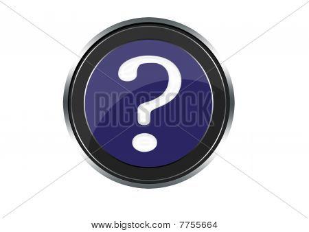 interrogation symbol for web
