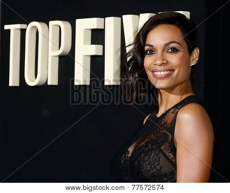 NEW YORK-DEC 3: Actress Rosario Dawson attends the