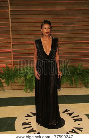 LOS ANGELES - MAR 2:  Gabrielle Union at the 2014 Vanity Fair Oscar Party at the Sunset Boulevard on March 2, 2014 in West Hollywood, CA