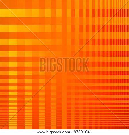 Pattern orange vector background