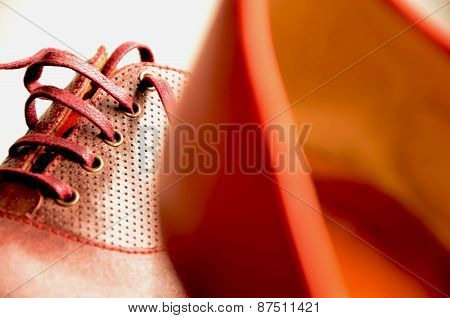 Diverse woman shoes